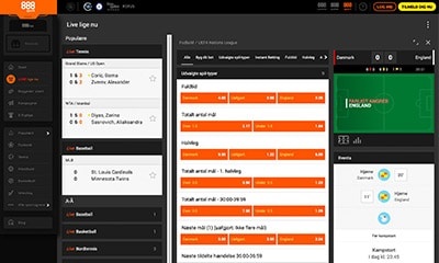 888 Sport tilbyder et knaldstærkt live betting produkt