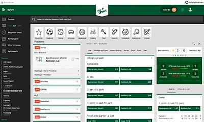Mr Green Sport har et gigntisk udvalg af live betting