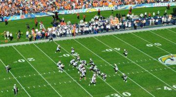 Se NFL live stream hos spiludbyderne