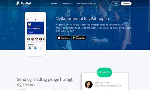 PayPal har en ganske velfungerende app